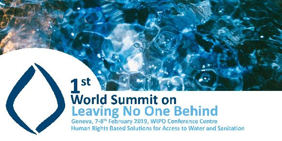 1st World Summit on Leaving No One Behind