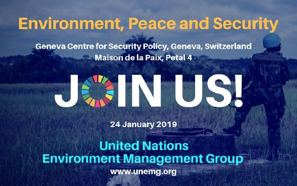 Environment, Peace and Security – Nexus Dialogue