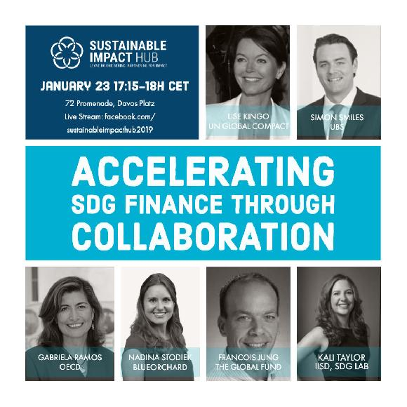 Accelerating SDG finace through Collaboration