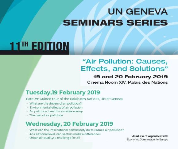 Seminar: Air Pollution - Causes, Effects and Solutions