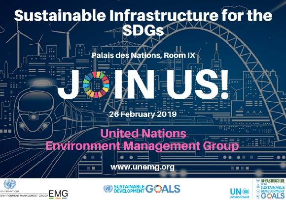 Sustainable Infrastructure for the SDGs- Nexus Dialogue