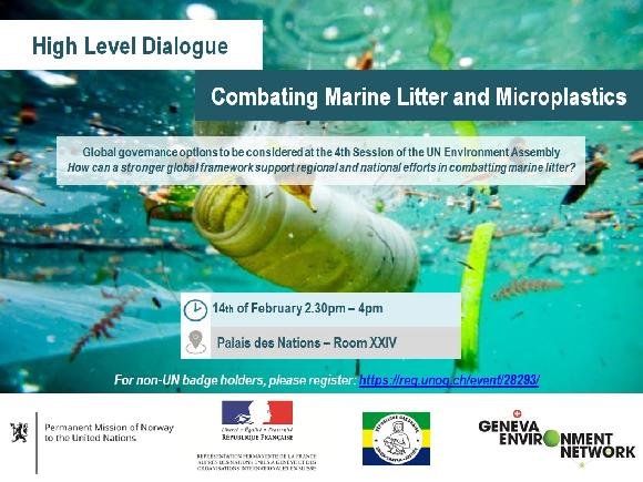 High Level Dialogue: Combating Marine Litter and Microplastics