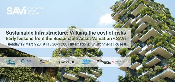 Sustainable Infrastructure: Valuing the cost of risks