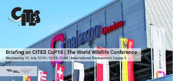 Briefing on CITES Cop18: The World Wildlife Conference