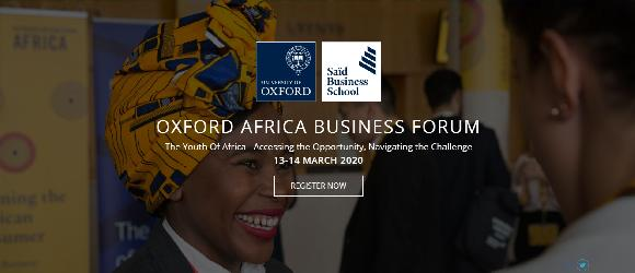 OXFORD AFRICA BUSINESS FORUM 2020